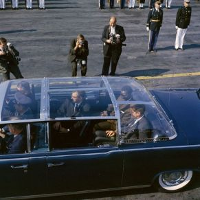 Kennedy's limo was made with a plexiglass top to specifically protect him from this type of incident.