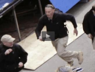 Pre-censored CBS News: San Bernadino shooters 3 white men in military attire