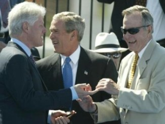 "Bush as ""Magog,"" Bill Clinton Says Hillary conjures the dead"