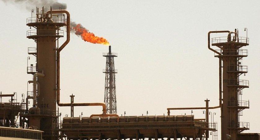 A general view shows Iraq's largest oil refinery in the northern town of Baiji. (File)