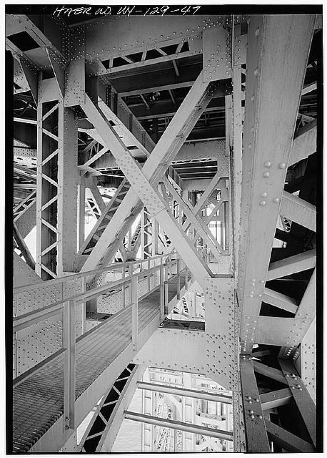 Roadway supports, George Washington Bridge