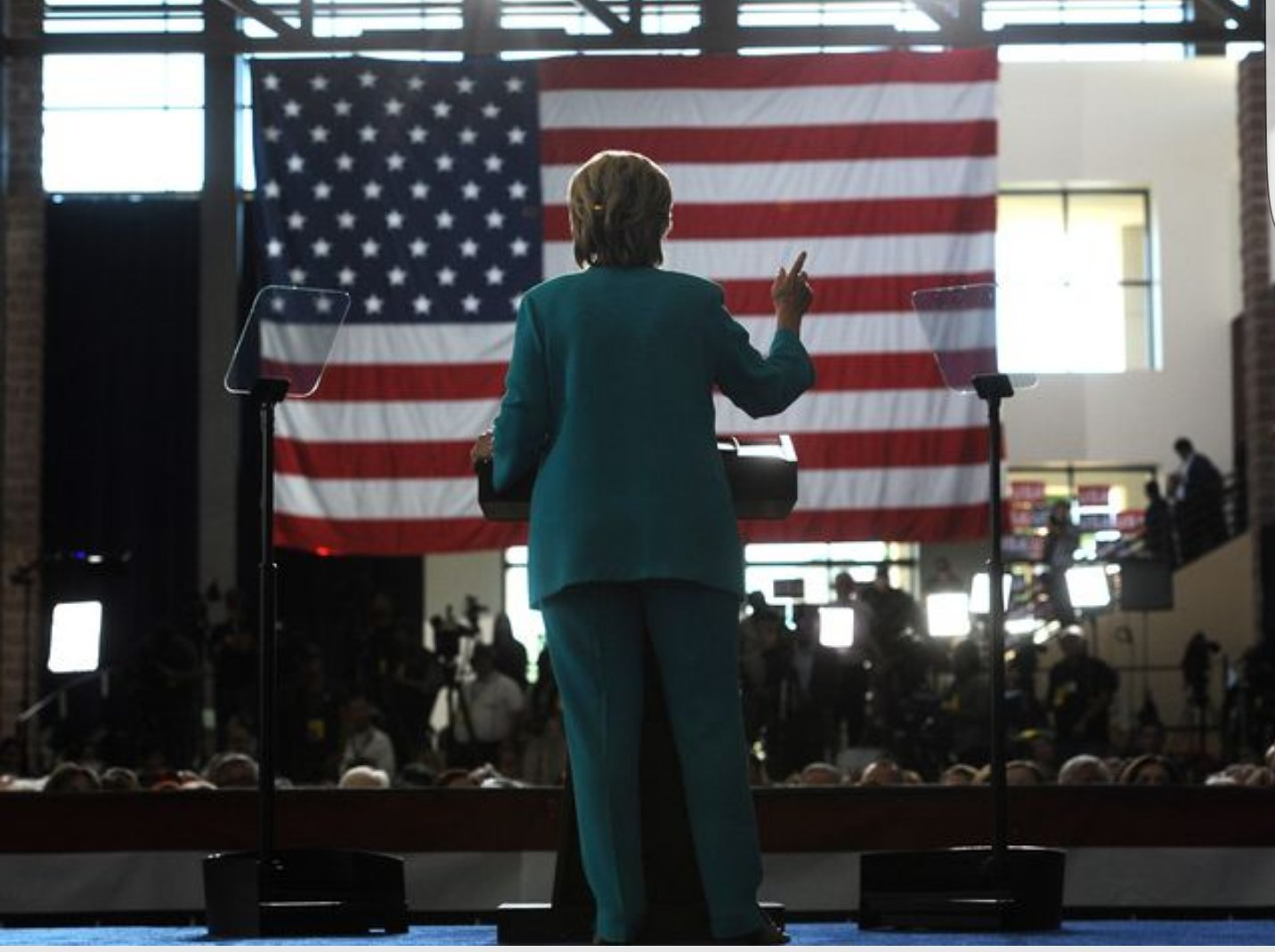 What if Hillary had a rally and nobody came, said no one ever.