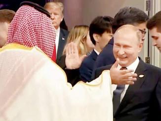 "Russia-SaudiArabiaCelebrate Trump ""Suiciding"" Top US Navy Admiral Ready To Start World War III"