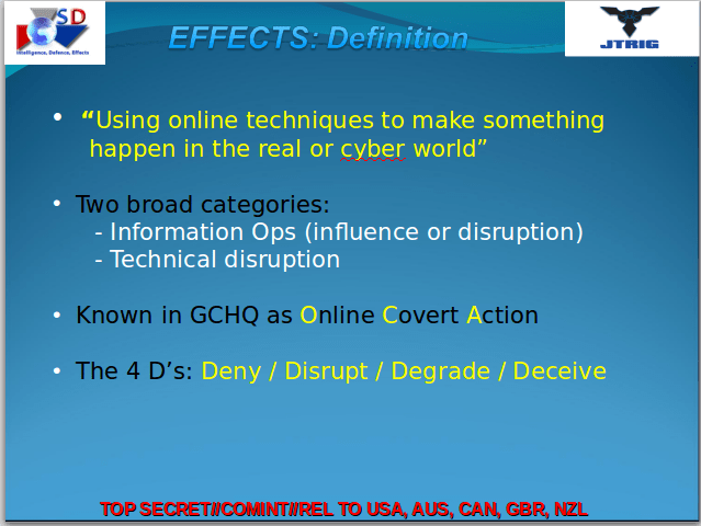 Effects: Definition