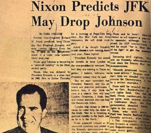 Published in Dallas Morning News, on day of assassination.
