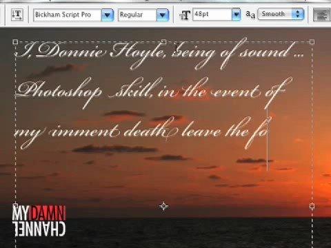 Please Don't View Donnie Hoyle's Secret Thu–