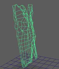 While learning Maya in the other module, I made some 3d models for my final project of the game. This was a screenshot of the model's netting. I thought this was important to add in as it demonstrates me using the skills learned in the other module.
