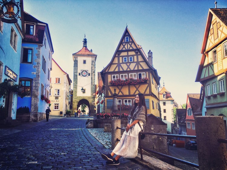 德國—自助土希德45天手繪圖文日記+自製旅遊手冊分享