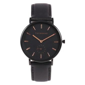 ザホースブラックストラップの腕時計