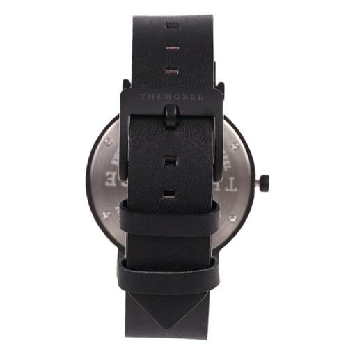 ブラックベルト腕時計