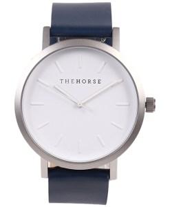 ザホースネイビーベルト時計