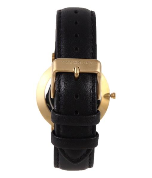 ブラックのベルトの腕時計