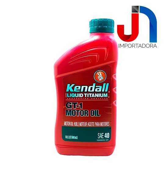 ACEITE SAE 40 LT KENDALL GT-1