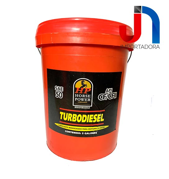 ACEITE SAE 50 BDE 5/1 DS HORSE POWER TURBO