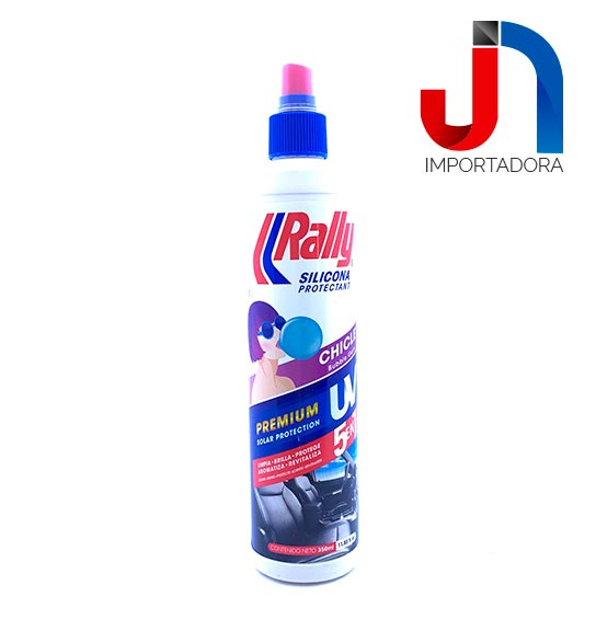 SILICONA 350ML RALLY  CHICLE BUBBLE GUM