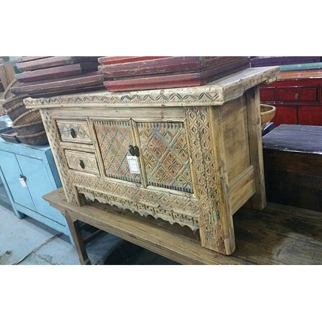 meuble bas chinois ancien de pekin la