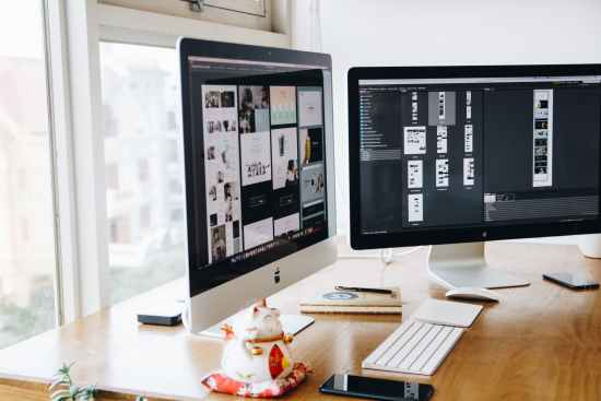 apple computer decor design