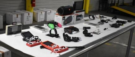 Seized items, source: CBP.gov