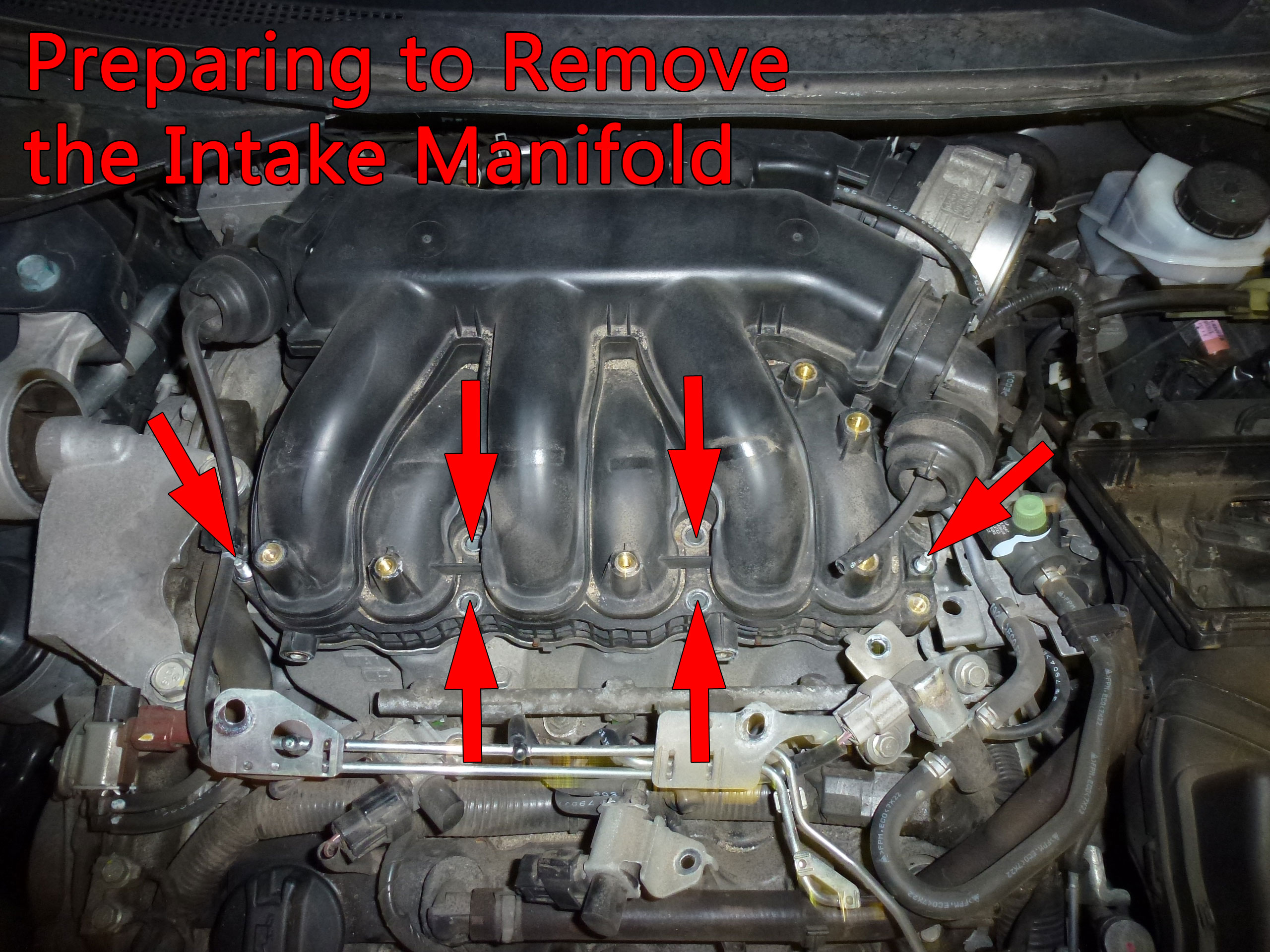 Nissan Altima Spark Plug Replacement (4th Gen)