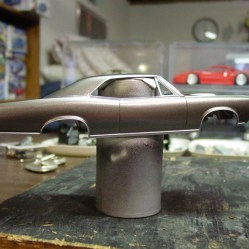 Using Tamiya silver with the Parafilm let to great results.