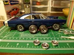 Wheel detail complete