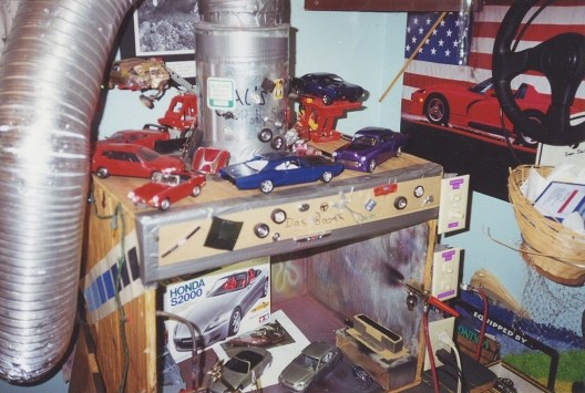 My booth in the late 90's.