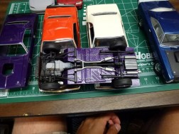 The chassis nearly complete.