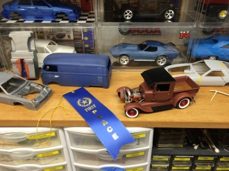 1st Place in Hobbytown USA's Spring 2015 Model Contest