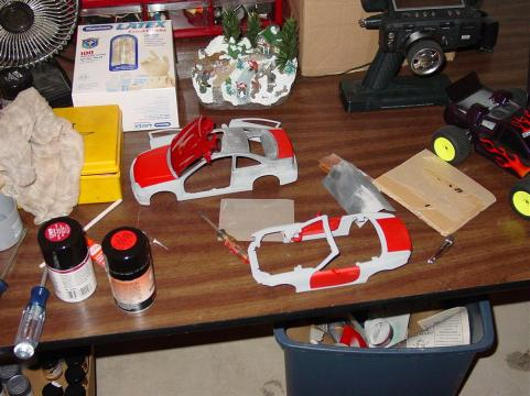 I experimented with die cast. The sheer mass of the bodies resulted in easily chipped paint. Neither of these projects have been finished.