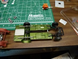 The chassis detail is coming along well.