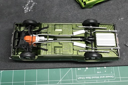 Finished chassis