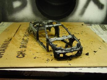 Stripping in a can. Nasty stuff that does a great job on die-cast.