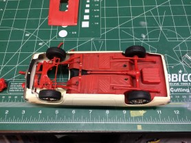 I've reused none of the chassis or suspension from the original build.
