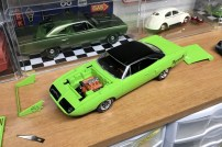The Superbird was definitely coming together. There is still plenty of work to do.