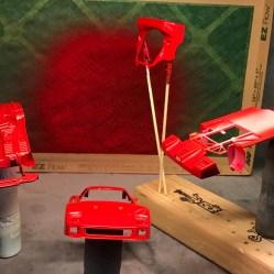 The Ferrari was now the proper Italian Red.
