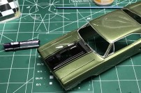 I finished the bare metal foil trim on the Roadrunner.