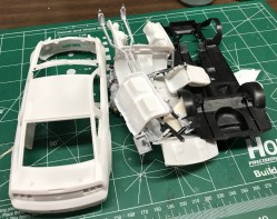Once I finished cleaning and drying all of the stripped parts, I was ready to start prepping.