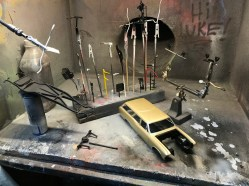 I painted nearly all of the final parts for the 40 ford and several for the Chevelle.