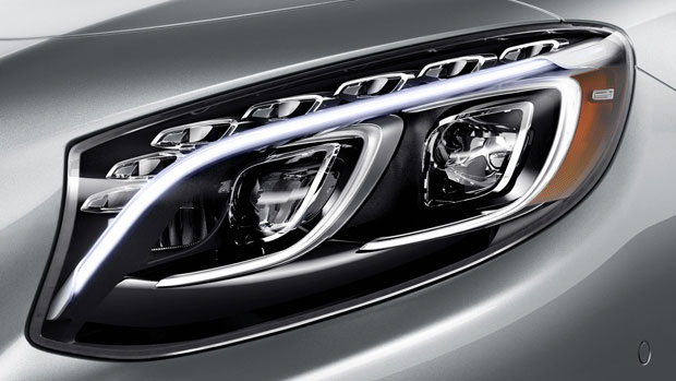 2015-S-CLASS-COUPE-All LED Exterior Lighting Export Import Rates
