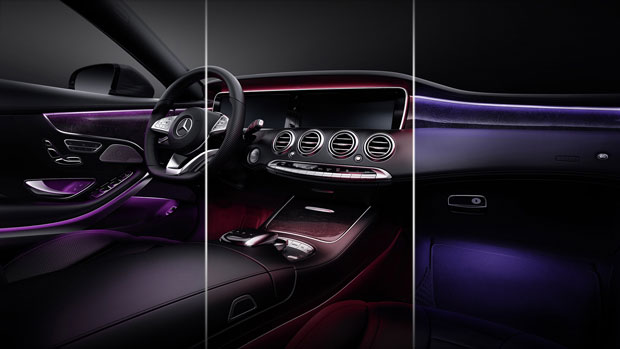 2015-S-CLASS-COUPE-LED Interior Lighting Import Export