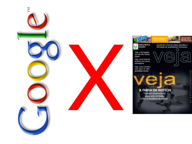Google desiste de indexar a Veja!