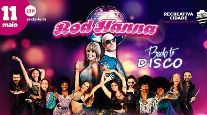 Rod Hanna faz a festa na Recra com Back to Disco, no dia 11/05
