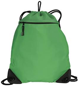 Green Cinch Bag