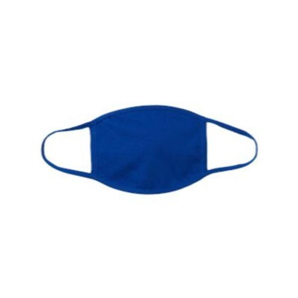Royal blue face mask