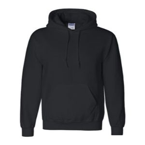 Hooded Sweatshirt, Black