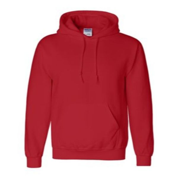 Hooded Sweatshirt, Red
