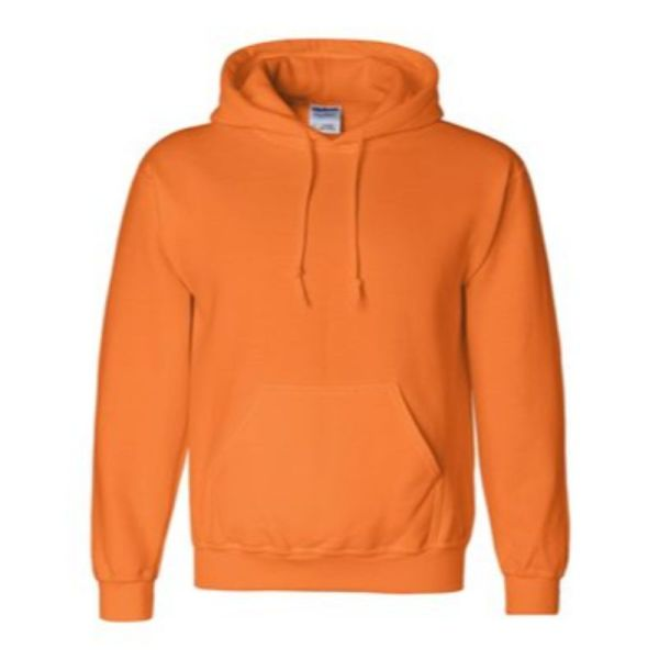 Hooded Sweatshirt, Safety Orange