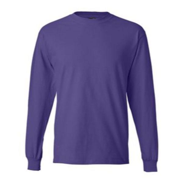 Long Sleeve Tee, Purple