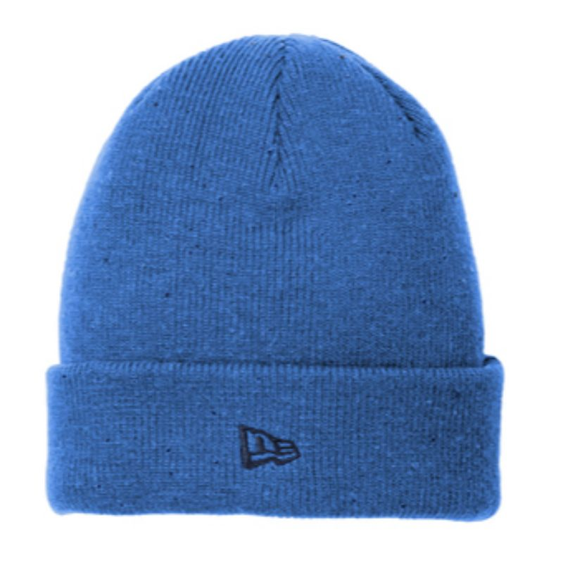 Royal/Black New Era Speckled Beanie