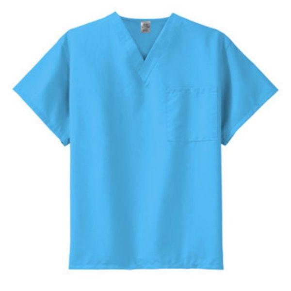 scrub top, Turquoise